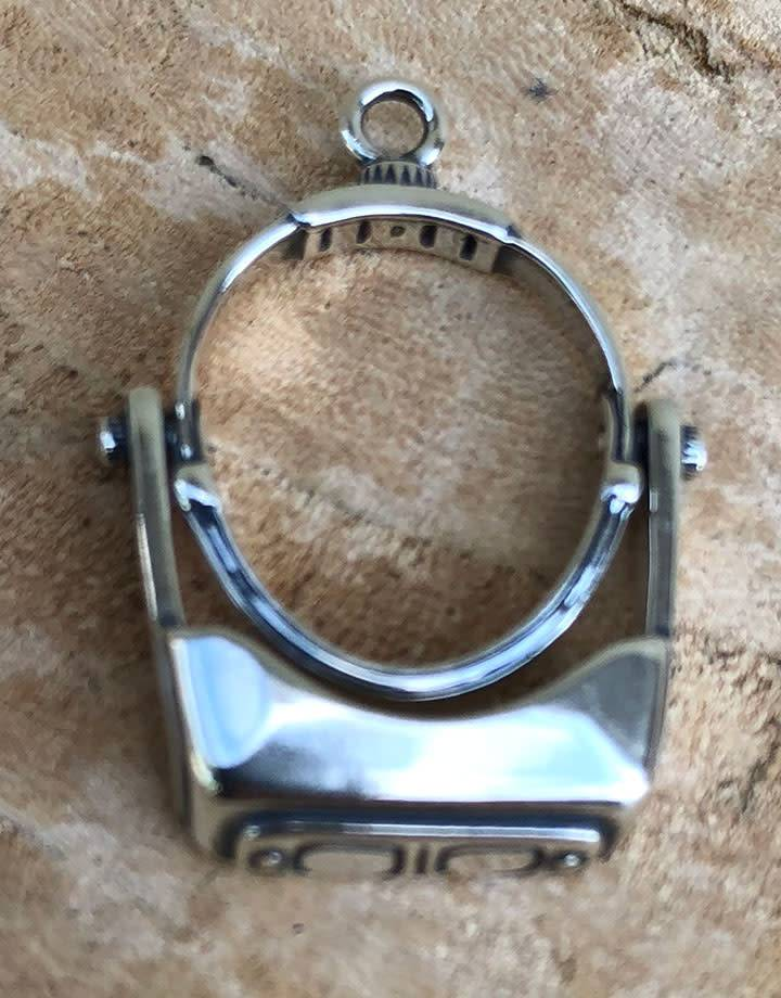 CM0008 = Headband Magnifer Charm (Moveable) Sterling Silver