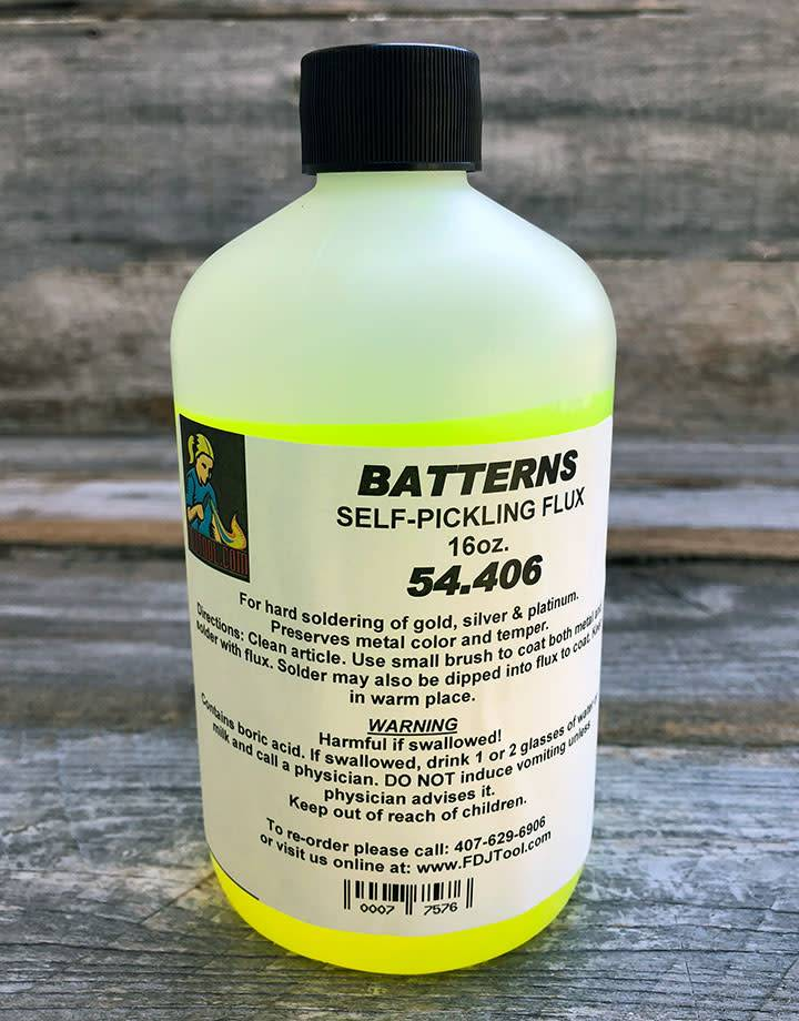 54.406 = Battern's Flux  16oz Bottle