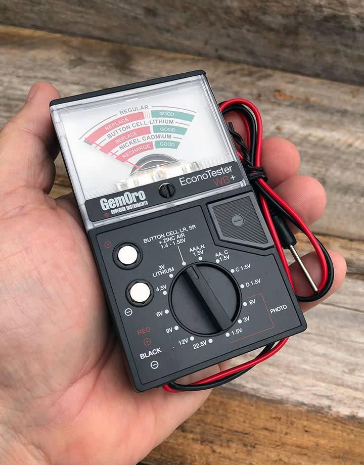 GemOro BA102 = Economy Battery Tester