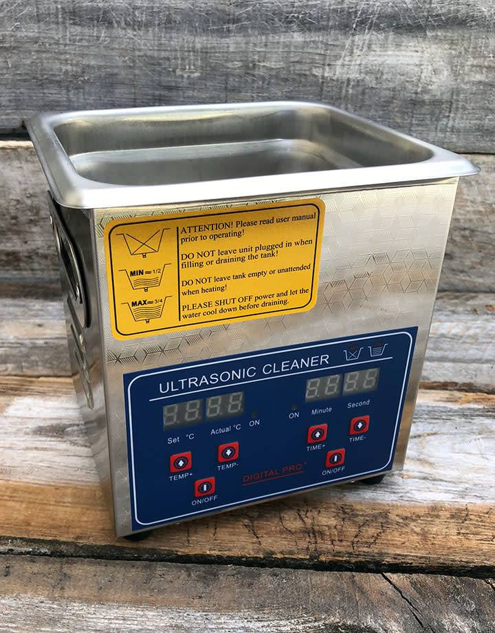 CL1200 = 2L Ultrasonic Cleaner with Heater and Basket