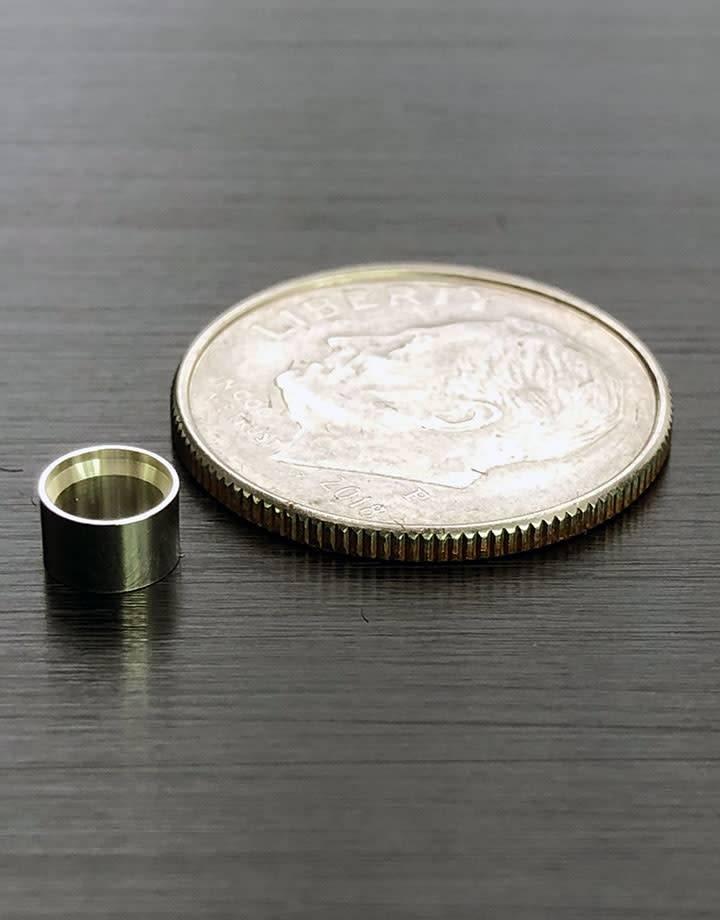 511S-4.0 = Bezel Setting 4.0mm Sterling Silver (2.8mm High) (Pkg of 3)