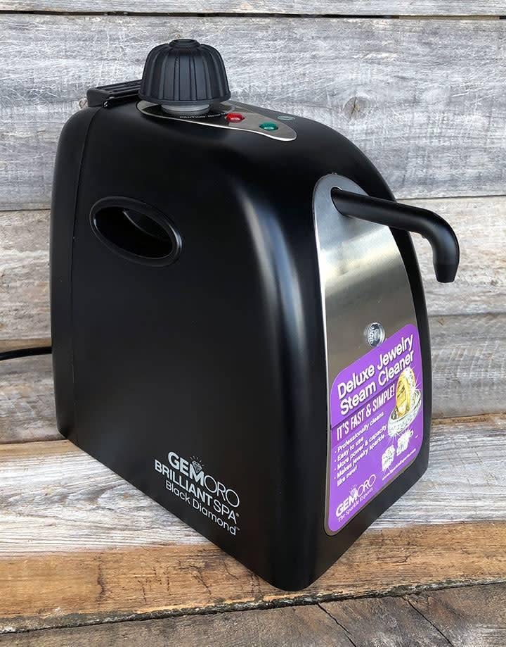 GemOro CL362 = GemOro Brilliant Spa Black Diamond Steam Cleaner