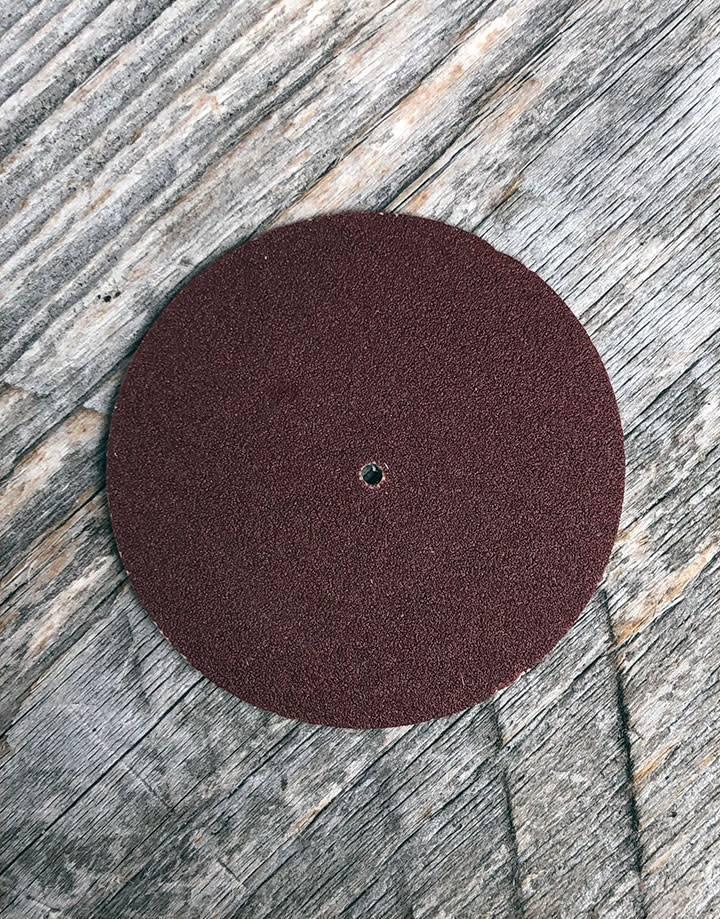 "10.01100 = Aluminum Oxide Pinhole Sanding Disc Fine (120grit) 1-1/2""  (Pkg of 100)"