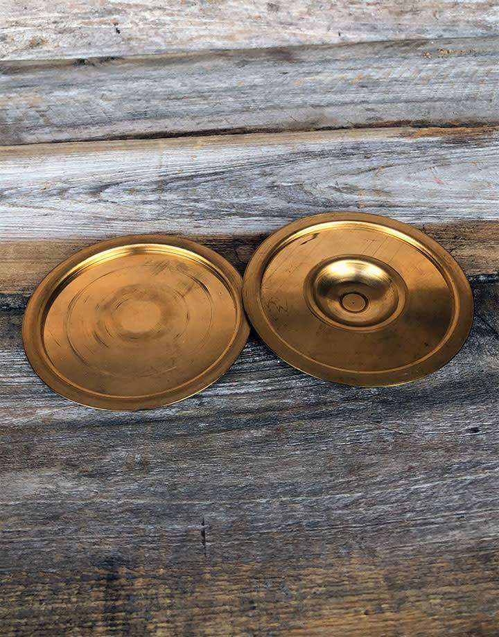 CA2905 = RED BRASS COVERS for KUEM-BOO & PMC AURA 22 (set of 2)