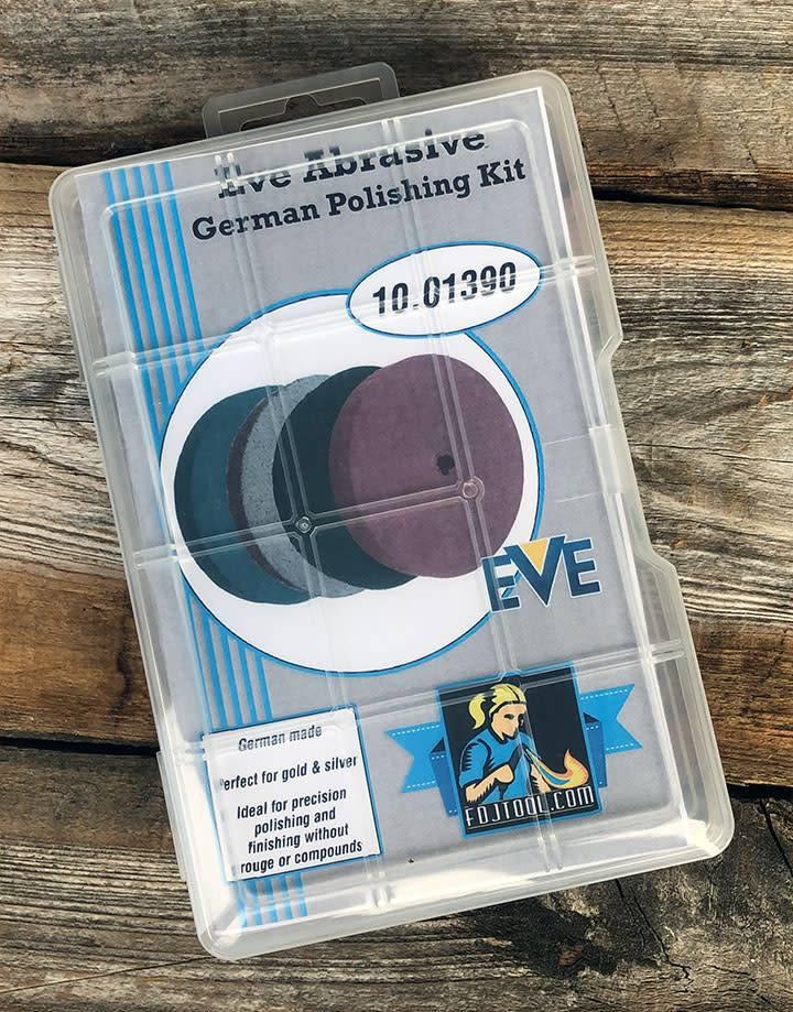 EVE Abrasives ST1390 = EVE Silicon Abrasives Assortment 54pcs