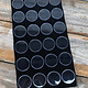 DST2524 = GEM JAR TRAY INSERT 24 JARS BLACK