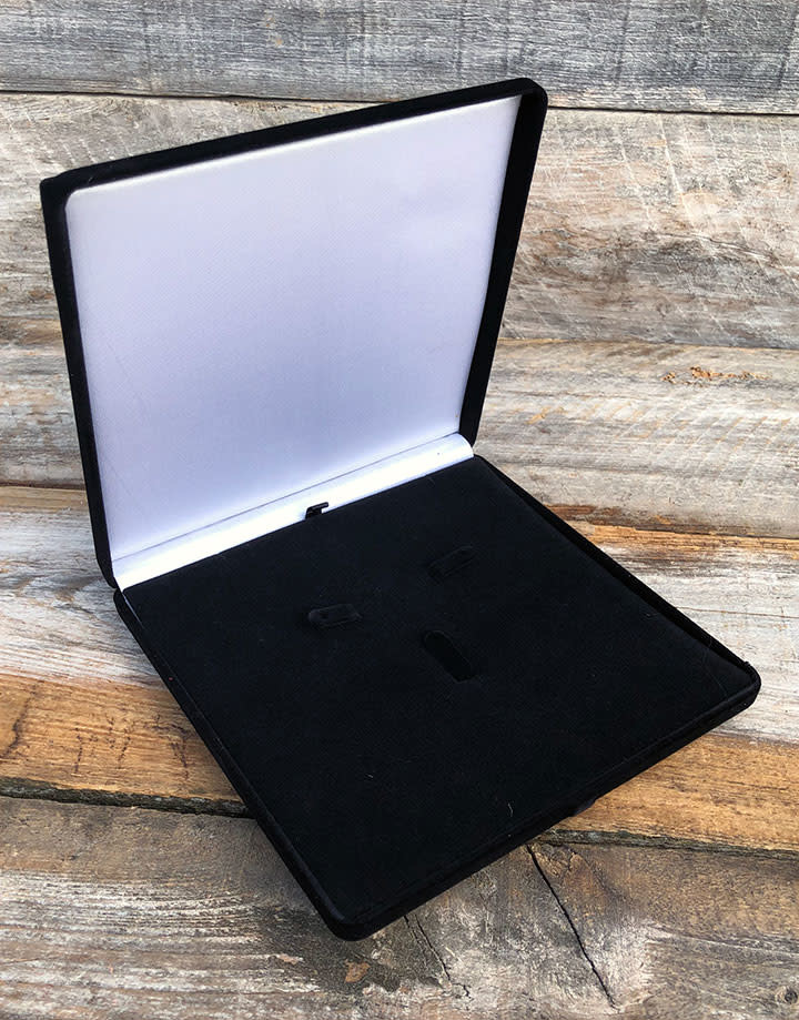 DBX1225 = Black Value Velvet Combination Gift Box (Each)