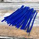 CA790-08 = Wax Wire Blue ROUND 8ga