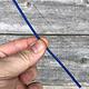 CA790-10 = Wax Wire Blue ROUND 10ga