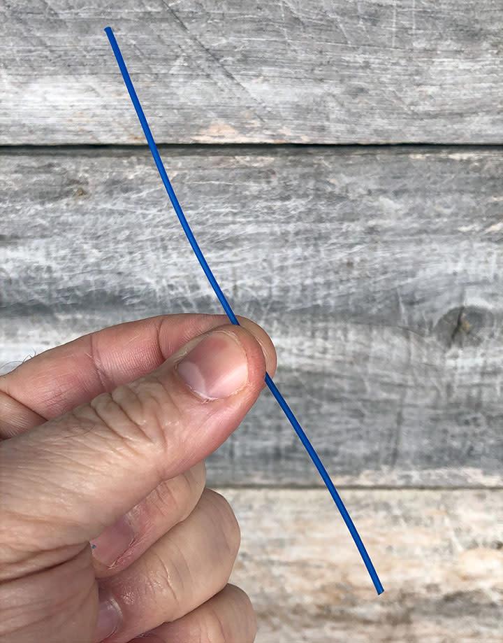 CA790-16 = Wax Wire Blue ROUND 16ga