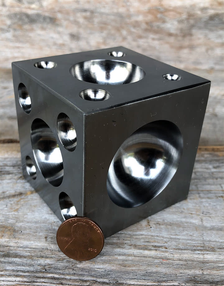 DA1250 = Steel Dapping Block 2-1/2'' x 2-1/2''