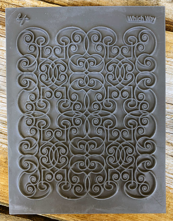 PN4770 = Texture Stamp - Which Way by Lisa Pavelka
