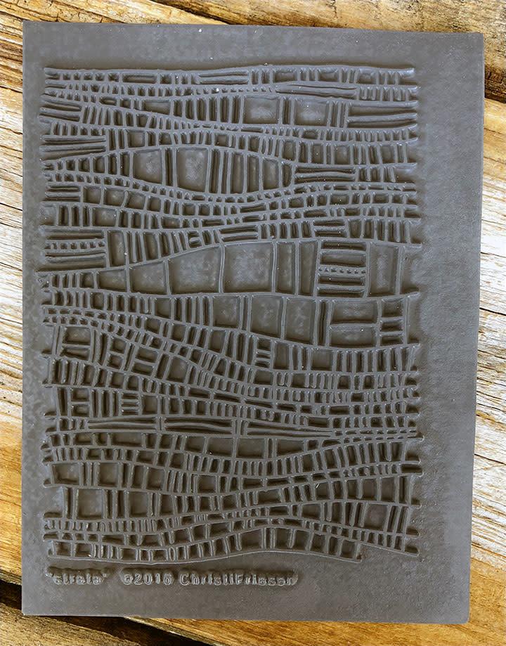 PN4762 = Texture Stamp - Strata by Christi Friesen