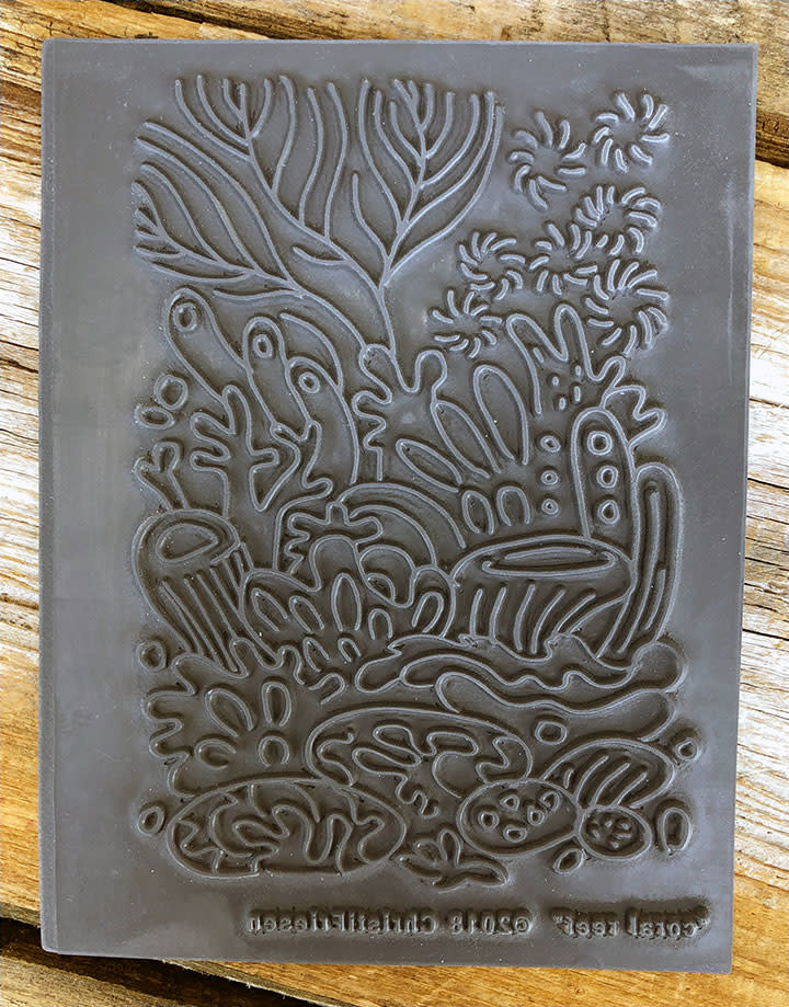 PN4759 = Texture Stamp - Coral Reef by Christi Friesen