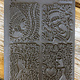 PN4768 = Texture Stamp - About Face by Lisa Pavelka