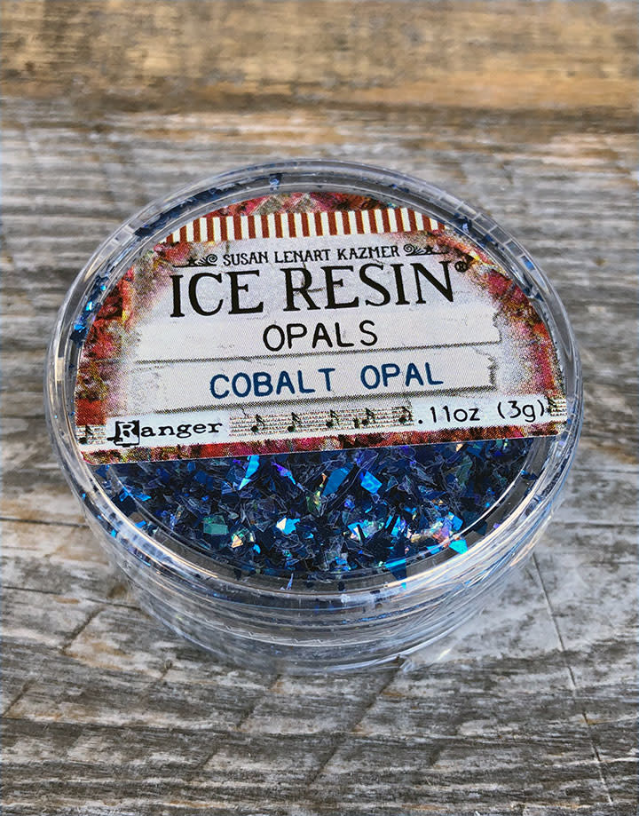 CE773 = Ice Resin Cobalt Opal