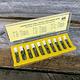 200SB = Spring Bar Kit 200pcs Double Shoulder Extra Thin