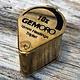 GemOro EL403 = LOUPE GOLD TONE 10X TRIPLET