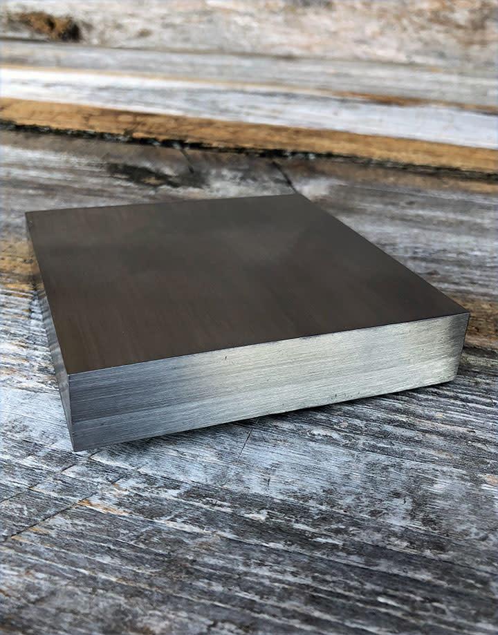 AN543 = Steel Bench Block 3-3/4'' x 3-3/4'' x 3/4''