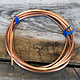 CSW10 = Copper Square Wire 10ga 2.59mm Soft (Approx. 6.2ft)