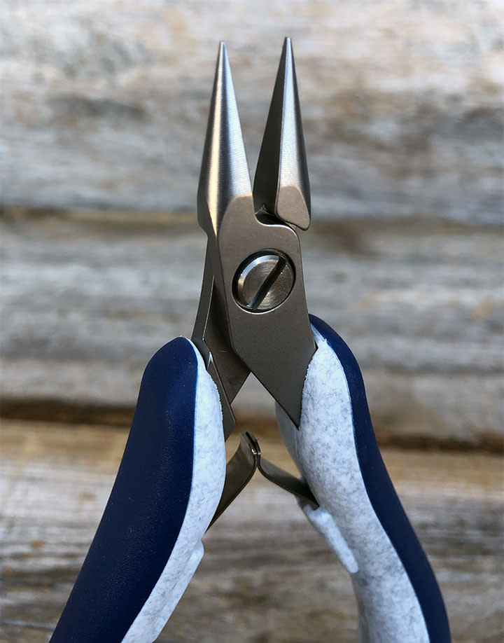 Grobet USA PL96021 = Teborg Short Chain Nose Plier