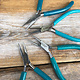 Eurotool PL2599 = Glitter Line Plier Set (4 pcs) with Stand