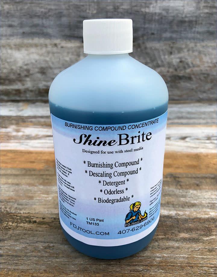 TM133 = Shine Brite Burnishing Compound - 1 Pint (16 oz)