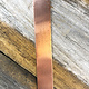 "CS22R-6x1 = Copper Bracelet Strip 22ga 6"" x 1"" (Pkg of 5)"