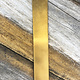 BS22R-6x1 = Brass Bracelet Strip 1x6 In 22ga 5/pc = Brass Bracelet Strip 1x6 In 22ga 5/pc