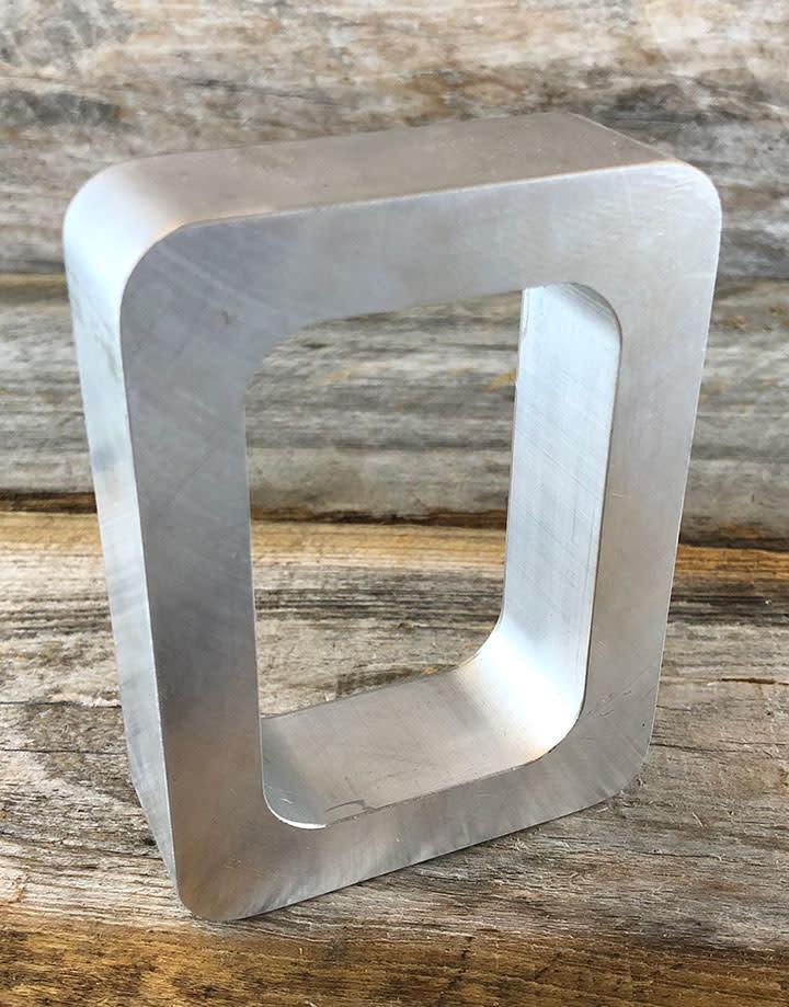 22.556 = Aluminum Mold Frame 1-7/8'' x 2-7/8'' x 3/4''