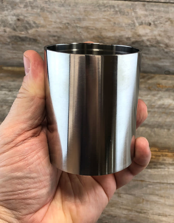 21.690 = FLASK for CASTING 2-1/2'' DIA x 3'' H