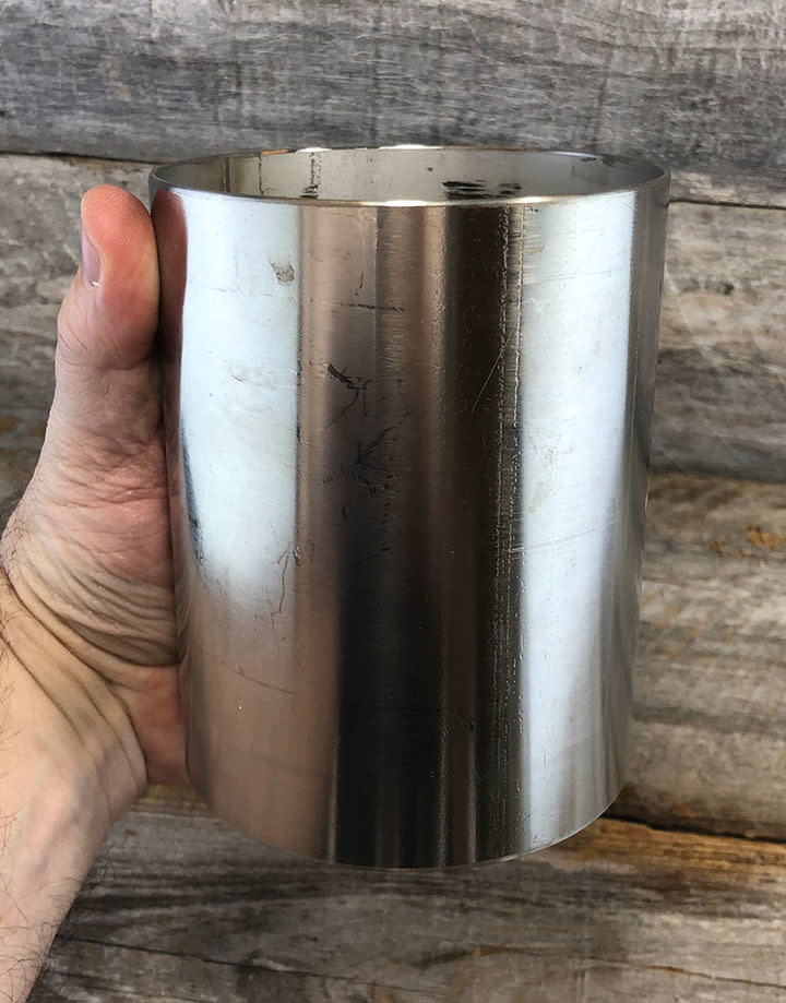 21.701 = FLASK for CASTING 4'' DIA x 5'' H