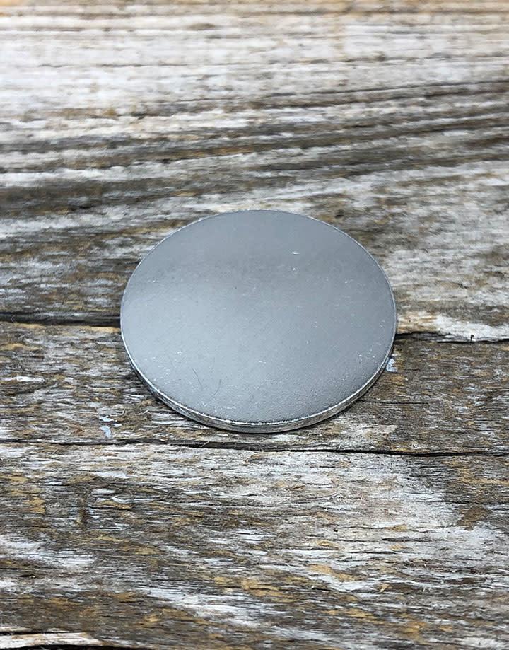 MSAL10420 = Aluminum Soft-Strike Stamping Blank - CIRCLE 1'' (Pkg of 24)
