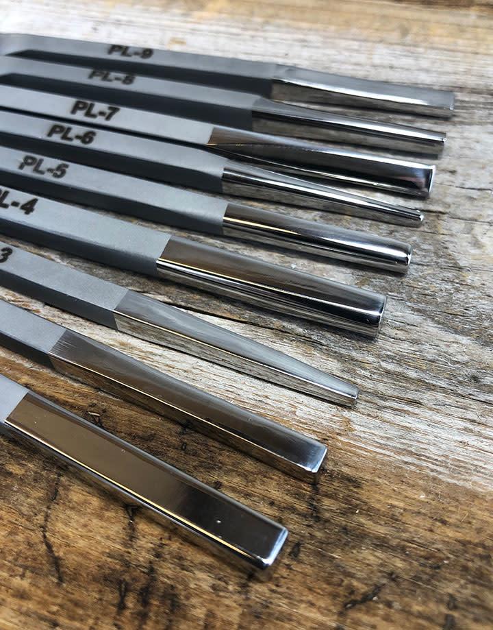 Fretz Designs PN8003 = Fretz Planishing Repousse Set (9pcs)