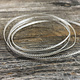 """SGW06 = Sterling Gallery Wire """"Beaded Swag"""" (Per Inch)"""