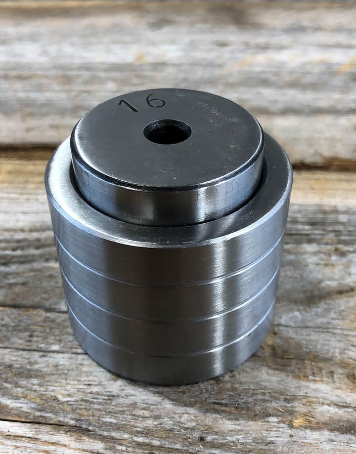 DA3320 = Ring & Hoop Press - Large Scallop