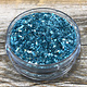 CE793 = Ice Resin German Glass Glitter - Sky Blue