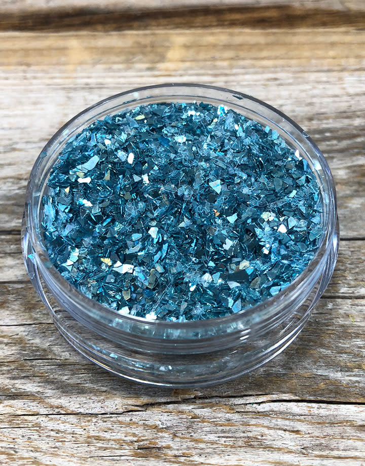CE793 = Ice Resin German Glass Glitter - Sky Blue