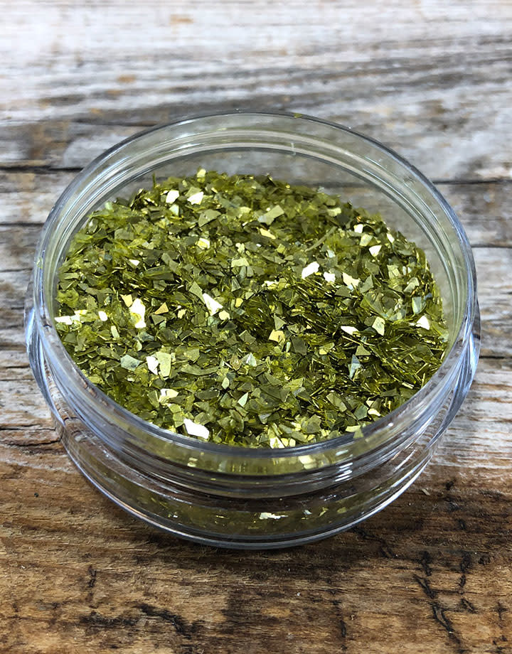 CE794 = Ice Resin German Glass Glitter - Chartreuse