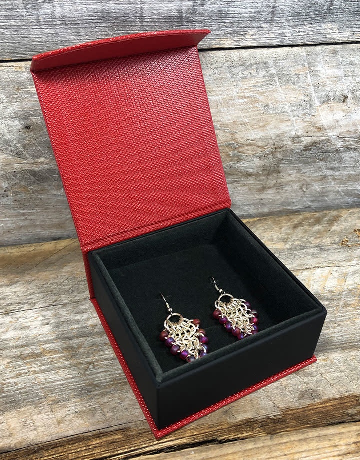 DBX4151 = Deluxe Magnetic Earring / Pendant / Combination Box