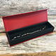 DBX4153 = Deluxe Magnetic Red/Black Bracelet/Watch Box 8-3/4'' x 2-1/4'' x 1''