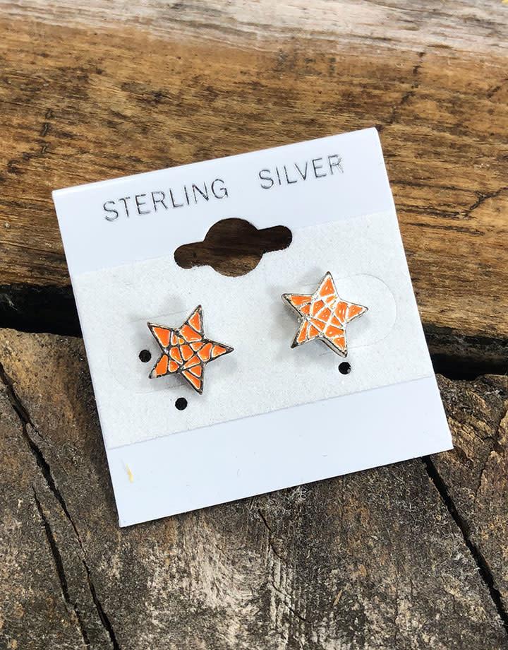 "DER712 = Hanging Earring Cards White 1-1/2'' ""Sterling Silver (Pkg of 100)"
