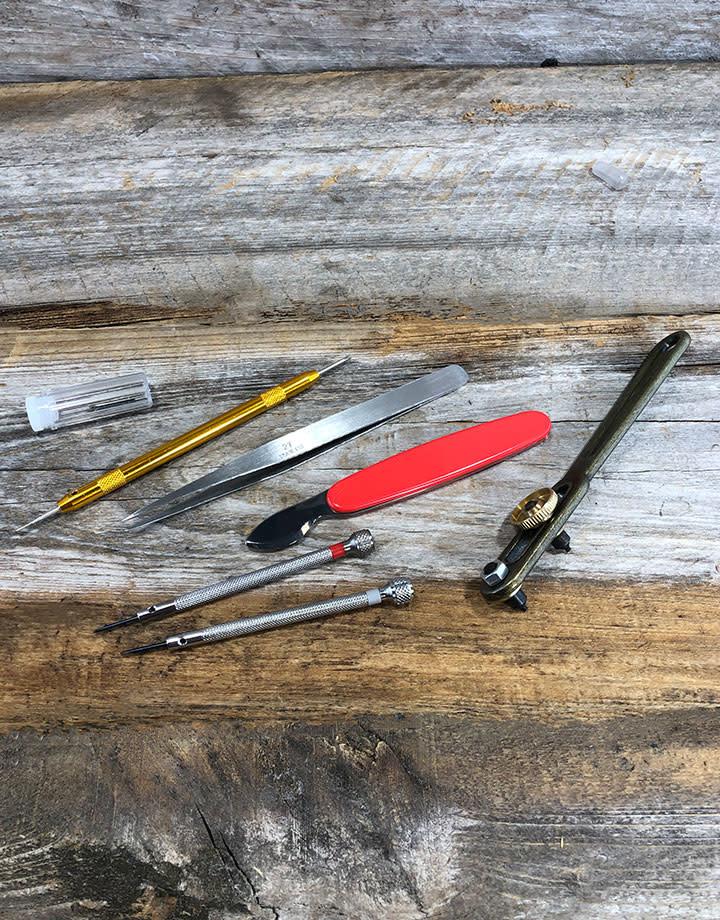 WA6616 = Economy Watch Repair Tool Kit in Box (10pcs)