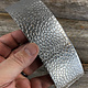 ASP4720 = Patterned Aluminum Sheet ''Lake Bed'' 2'' x 6'' 20ga