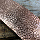 CSP4720 = Patterned Copper Sheet ''Lake Bed''  2'' x 6'' 20ga