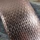 CSP4122 = Patterned Copper Sheet ''Wacky Windows''  2'' x 6'' 22ga