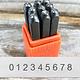 PN933 = 3mm San Serif Numbers Punch Set