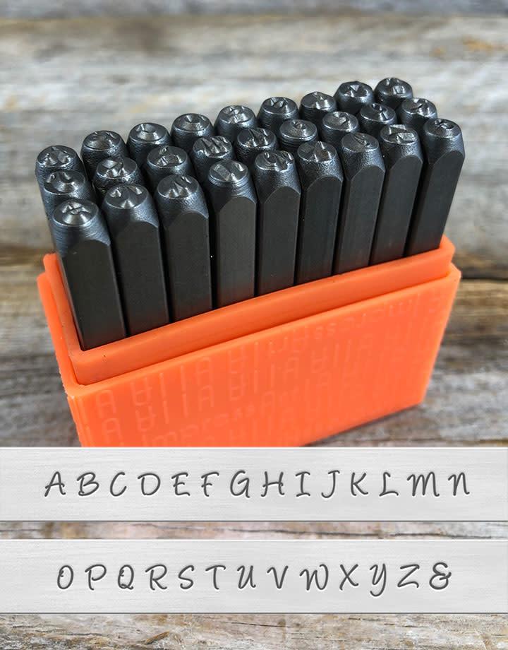 PN935 = 3mm Bridgette Uppercase Letter Punch Set