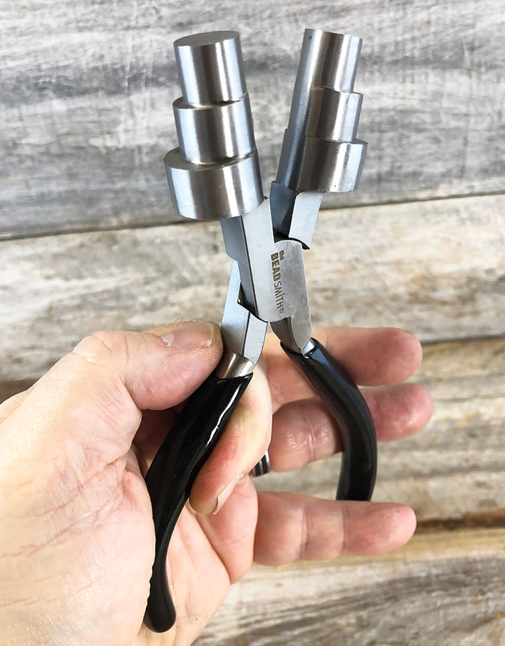 PL6464 = Double Wire Looper Pliers with 3 Steps ( 13-16-20mm ) by Beadsmith
