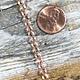 800CU-01 = Copper Chain 5.2mm Oval Rolo Chain (FOOT)